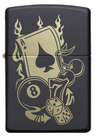 Picture of GAMBLING DESIGN ZIPPO LIGHTER