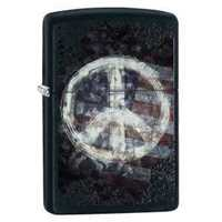 Picture of PEACE ON FLAG ZIPPO LIGHTER