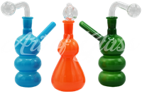 """Picture of 7"""" OPAQUE COLORED OIL BUBBLER"""