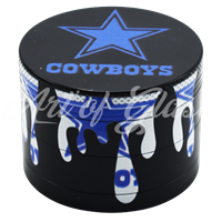 Picture of 50mm DALLAS COWBOYS FULL WRAP GRINDER - SINGLE