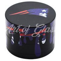 Picture of 50mm NEW ENGLAND PATRIOTS FULL WRAP GRINDER - SINGLE