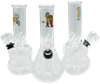 "Picture of 5"" CLEAR WATER PIPE w/ RICH & SHORTY STICKER"