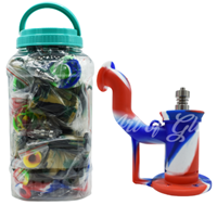 Picture of SILICONE BUBBLER DISPLAY JAR - 15ct