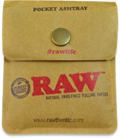 Picture of RAW POCKET ASHTRAY - 10ct