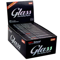 """Picture of LUXE GLASS ROLLING PAPERS 1 1/4"""" (24ct)"""