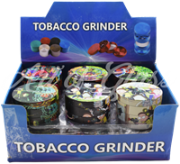 Picture of 63mm R/M ASSORTED FULL WRAP GRINDER - 12ct DISPLAY