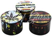 Picture of 63mm PATTERNS & POT LEAVES GRINDER - SINGLE
