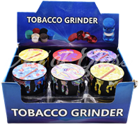 Picture of 63mm ASSORTED BACKWOODS DRIP GRINDER - 12ct DISPLAY