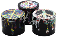 Picture of 45mm PEACE SIGN GRINDER - SINGLE