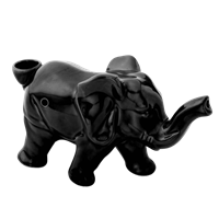 Picture of ELEPHANT NOVELTY PIPE - BLACK