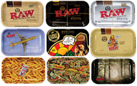 """Picture of MEDIUM RAW ROLLING TRAY 7""""x11"""" (DESIGNS)"""