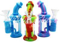 """Picture of 5"""" SILICONE & GLASS DRIP INLINE"""
