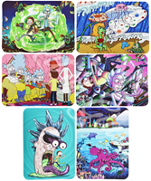 "Picture of 7""x11"" SILICONE MAT w/ DESIGNS"