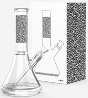 Picture of KEITH HARING GLASS - WATER PIPE
