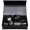 Picture of GLASS CHARACTER NECTAR COLLECTOR IN GIFT BOX