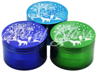 Picture of 63mm ANIMALS IN NATURE GRINDER