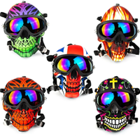 Picture of SUGAR SKULL DESIGN GAS MASK