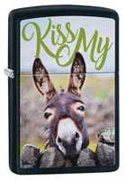 Picture of KISS MY DONKEY DESIGN ZIPPO LIGHTER
