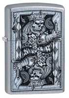 Picture of STEAMPUNK KING SPADE ZIPPO LIGHTER
