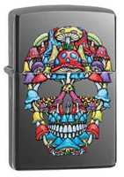 Picture of SKULL DESIGN ZIPPO LIGHTER
