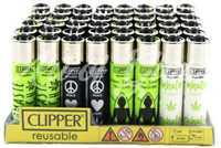 Picture of NAMASTE DESIGN CLIPPER LIGHTERS 48ct