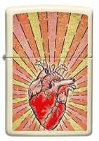 Picture of HEART DESIGN ZIPPO LIGHTER