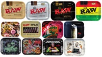 """Picture of LARGE RAW ROLLING TRAY 11""""x13"""" (DESIGNS)"""