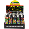 Picture of TRIPPY LEAVES LIGHTER (CHILD RESISTANT) 50CT DISPLAY