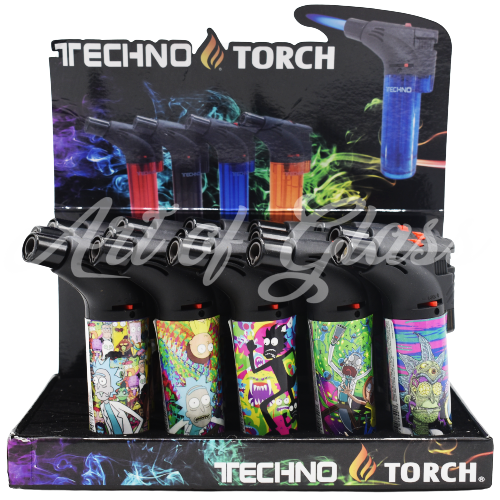 Picture of TECHNO TORCH 15ct DISPLAY - PSYCHEDELIC R/M