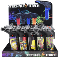 Picture of TECHNO TORCH 15ct DISPLAY - THE SIMPS