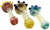 """Picture of 4"""" FUMED & FLARED FRITZ w/ MARBLES"""