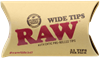 Picture of RAW PRE-ROLLED WIDE TIPS – 21PK – 20CT DISPLAY