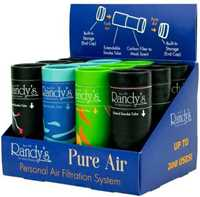 Picture of RANDY'S PURE AIR PERSONAL FILTRATION SYSTEM (12ct DISPLAY)