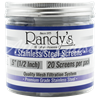 Picture of RANDY'S STAINLESS STEEL SCREENS - 36ct JAR