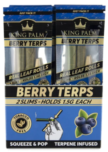 Picture of KING PALM SLIM 2pk - BERRY TERPS - 20ct
