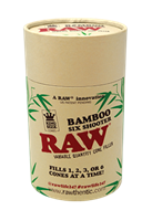 Picture of RAW BAMBOO SIX SHOOTER - KING SIZE
