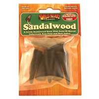 Picture of WILDBERRY 6ct BACKFLOW CONES - SANDALWOOD