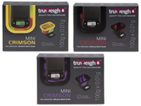 Picture of TRUWEIGH MINI CRIMSON COLLAPSABLE BOWL SCALE (100g x .01G)