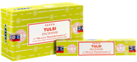 Picture of SATYA TULSI INCENSE STICKS 12pk 15g