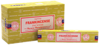 Picture of SATYA FRANKINCENSE INCENSE STICKS 12pk 15g