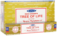 Picture of SATYA TREE OF LIFE INCENSE STICKS 12pk 15g