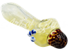 """Picture of 5"""" FUMED MUSHROOM HEAD w/ MARBLES"""