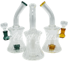 """Picture of 8"""" RIBBED HOURGLASS w/ INLINE SHOWERHEAD"""