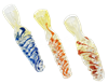 Picture of FUMED TWISTED CHILLUMS WITH ROPES