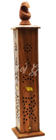 Picture of WOODEN ELEPHANT TOWER INCENSE BURNER