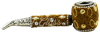"""Picture of 4.5"""" BEDAZZLED CORN COB PIPE"""