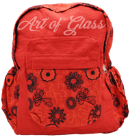 Picture of MIXED PATTERN BACKPACK w/ TWO WATER BOTTLE POUCHES