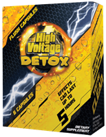 Picture of HIGH VOLTAGE DETOX 5 HOUR FAST FLUSH CAPSULES - SINGLE