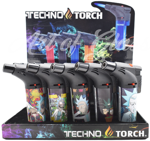 Picture of TECHNO TORCH 15ct DISPLAY - STONED R/M