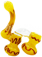 Picture of COLORED TWO CHAMBER BUBBLER